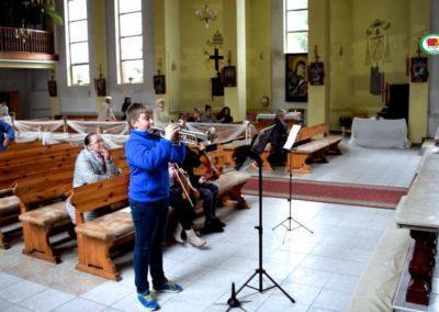 Oprawa muzyczna Nabożeństwa w Kościele  R.Kalinowskiego wyst.Maria Karuk,Weronika Kusiek i Mateusz Stanisław Bladosz 10.2017