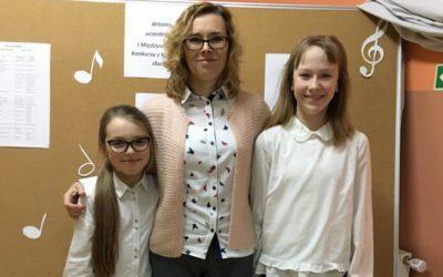 Sukces Magdaleny Nysztal i Leny Maruchacz w Konkursie z Kształcenia Słuchu w Nowym Mieście Lubawskim